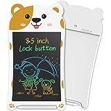 NEWYES Tavoletta LCD da Scrittura 8,5 Pollici Colorato Scheda Doodle Blocco da Disegno elettronico per Bambini con Funzione d