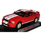 Ford Mustang Shelby Gt 500 Gt500 Weiss White 2007 1 24 Welly Modellauto Modell Auto Spielzeug