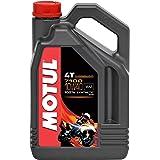 Motul 104092 7100 10W40 Huile Moto 100% synthèse 4T 4 L