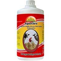 Growel Aquacure Water Sanitizer For Poultry,Cattle, Birds & Other Farm Animals-500 Ml