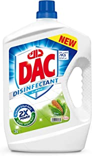 DAC Disinfectant Pine Liquid Cleaners, 3 Litre