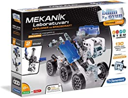 Clementoni 64997 Mekanik Laboratuvarı Explorer & Spacecraft