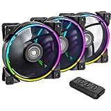 CP3 ventilateur rgb 120mm adressables ventilateurs de refroidissement pour PC Ventilateurs silencieux à boucle d'éclairage do