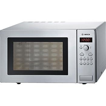 Bosch HMT84M451 Micro-ondes 25l 900W en acier inoxydable (Allemagne  Importer) 342abd20451c