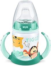 NUK Disney Winnie First Choice Trinklernflasche aus PP 150ml, mit Soft-Trinktülle aus Silikon, BPA frei, ab 6 Monate