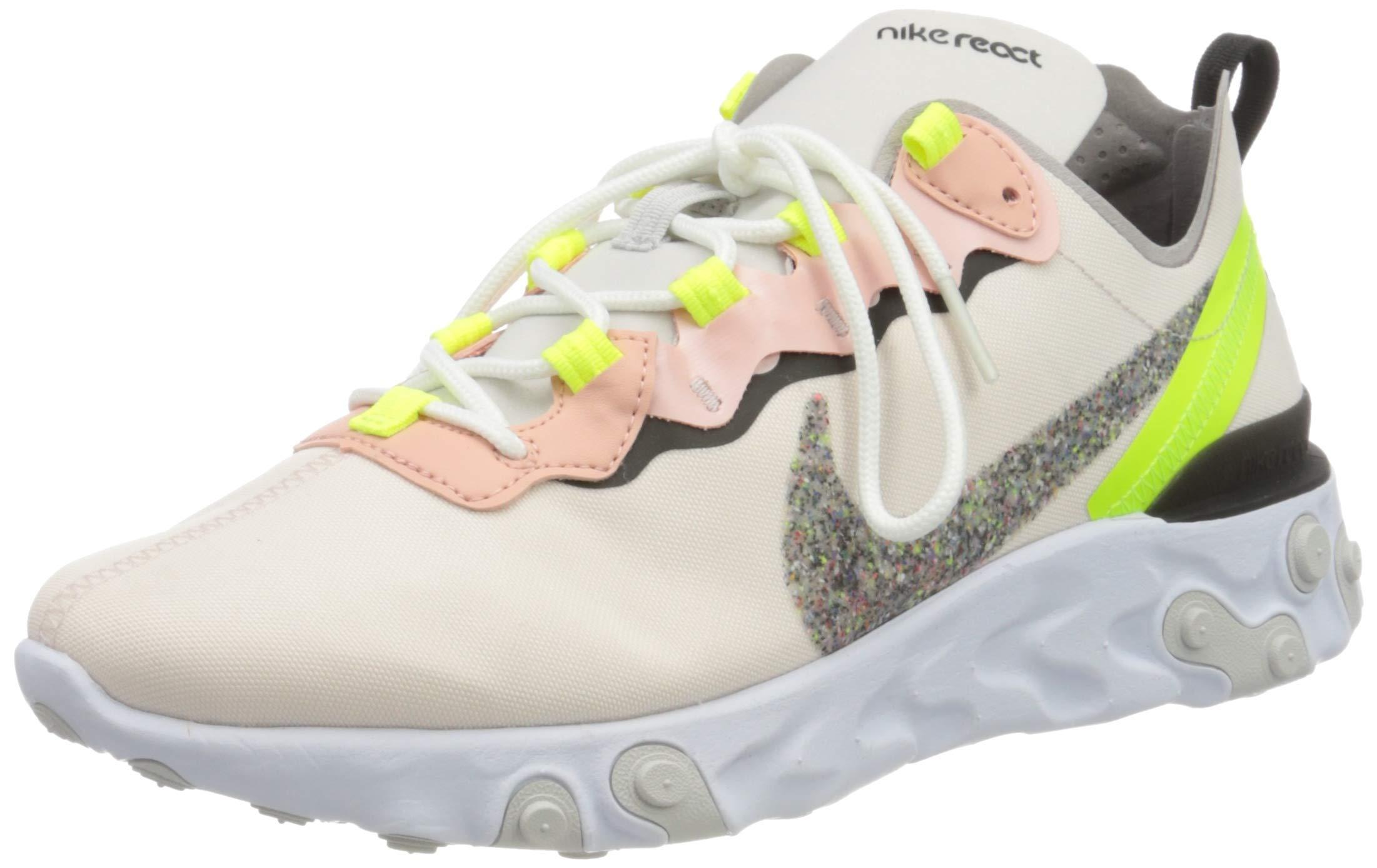 71wFG7GnFhL - Nike Women's W React Element 55 PRM Track & Field Shoes