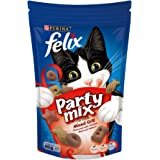 Purina Felix Party Mix Mixed Grill Cat Treats 60g(Pack of 1)