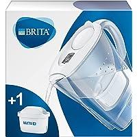 BRITA Carafe filtrante Marella blanche - 1 filtre MAXTRA+ inclus