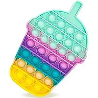 Fidget Toys- popit cupcake Pop Bubble -Bouteille de boisson Jouets Sensoriels à Presser en Silicone pour la…