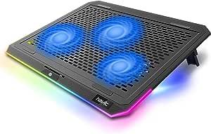 Havit Rgb Laptop Kühler Cooling Pad Mit 3 Leisen Computer Zubehör
