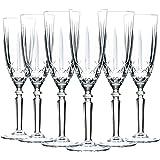 Cristal Glass Orchestra RCR Coupe Flûtes à Champagne Verres Set - 200ml - Lot de 6