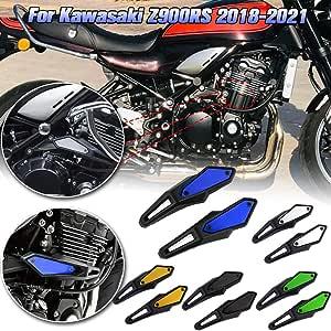 Xx Ecommerce Motorrad Motor Bewachen Rahmen Leichentuch Schieberegler Fall Sparer Stator Absturz Abdeckung Protector For 2018 Kawasaki Z900rs Silber Auto