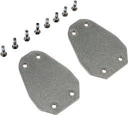 """SpeedPlay DistanzplattenV2 zum Ausgleich verschiedener Beinlängen 2 1/8"""" 4x15mm und 4x18mm Schrauben, 14040 Pedale, schwarz, Uni"""