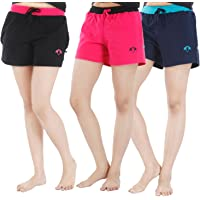 NITE FLITE Women Running Shorts (Pack of 3)