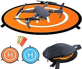 WisFox TY-01, Drone Abschussrampe, Faltbares Wasserdichtes D75cm Landing Pad für DJI Mavic Pro Phantom 2/3/4 Inspire 1