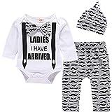 Yilaku Ropa Bebe Recién Nacido Ropa de otoño y Invierno Bebé Niño Niña Camiseta Tops Camisas niños + Pants Pantalones 2 Pcs C