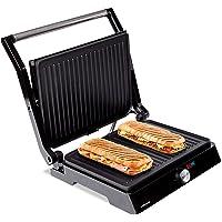 Mellerware - Gril électrique portable Hotty ! | 2200W | Anti-adhérent | 3 en 1 (Cuisinière, Assiette, Barbecue…