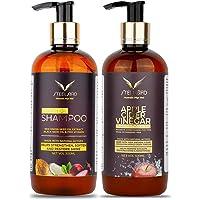 Steelbird Hair Care Onion Seed Oil & Apple Cider Vinegar Ultimate Combo (Onion Hair Shampoo + ACV Conditioner), 600 ml