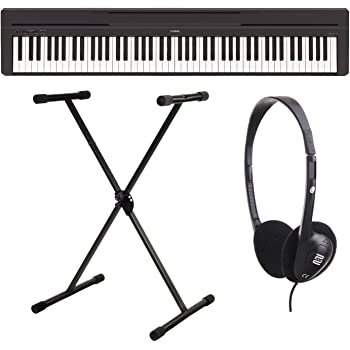 yamaha p 45b digitalpiano stagepiano set inkl. Black Bedroom Furniture Sets. Home Design Ideas