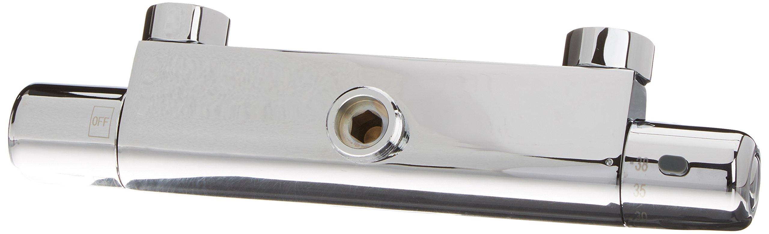 OXEN 150994 – Grifo termostático redondo para columna de ducha