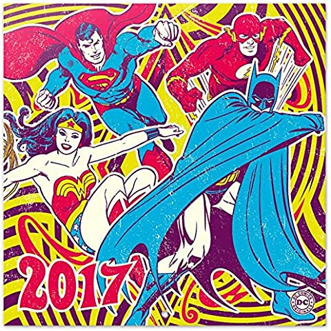 DC Comics - Calendario Ufficiale 2017 Poster Calendario (30 x 30cm)