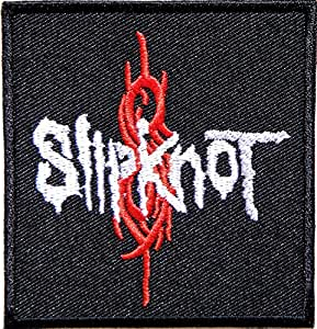 SLIPKNOT Heavy Metal Rock Punk Band Logo Music Patch Sew Iron on Embroidered Badge Sign Costume Gift