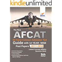 The new AFCAT Guide with 14 Year-wise Past Papers (2011 - 2018) 5th Edition