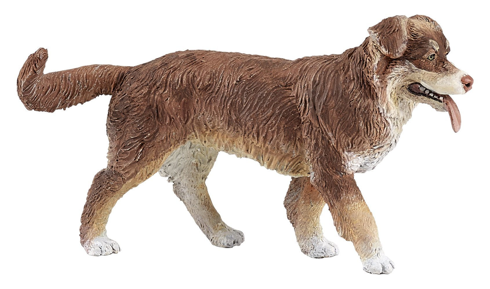 Papo 54038 Australian shepherd CATS AND DOGS Figurine, Multicolour