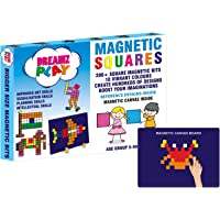 DreamzPlay Magnetic Puzzles includes 200 Colorful Magnets, 250 Design in Puzzle book, Magnetic Board and Display Stand…