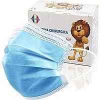 100 Stück medizinische Masken Kinder,OP Masken Kinder CE zertifiziert und atmungsaktiv(typ iir), 3-lagige Mundbedeckung…