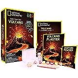 Bandai - National Geographic - Kit découverte - Volcan à fabriquer et faire entrer en éruption - 2 roches volcaniques incluse