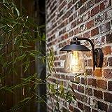 CGC Black Bronze Outdoor Lantern Coach Light Garden Traditional Style Wall Light Old Style