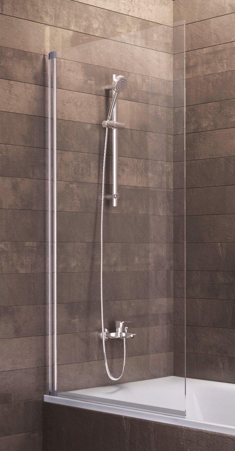 Duschabtrennung badewanne ohne bohren  Badewannenaufsatz Duschabtrennung Badewanne Berlin 140x80 cm von ...