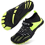 Kids Water Shoes Boys Girls Barefoot Shoes Quick Drying Swim Shoes for Beach Water Sport Surf