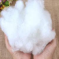 Roy Textile Pure Virgin Hollow Fibre White Stuffing For - Cushions, Pillows, Crafts - Filling Stuffed Teddy Bear, Pet…