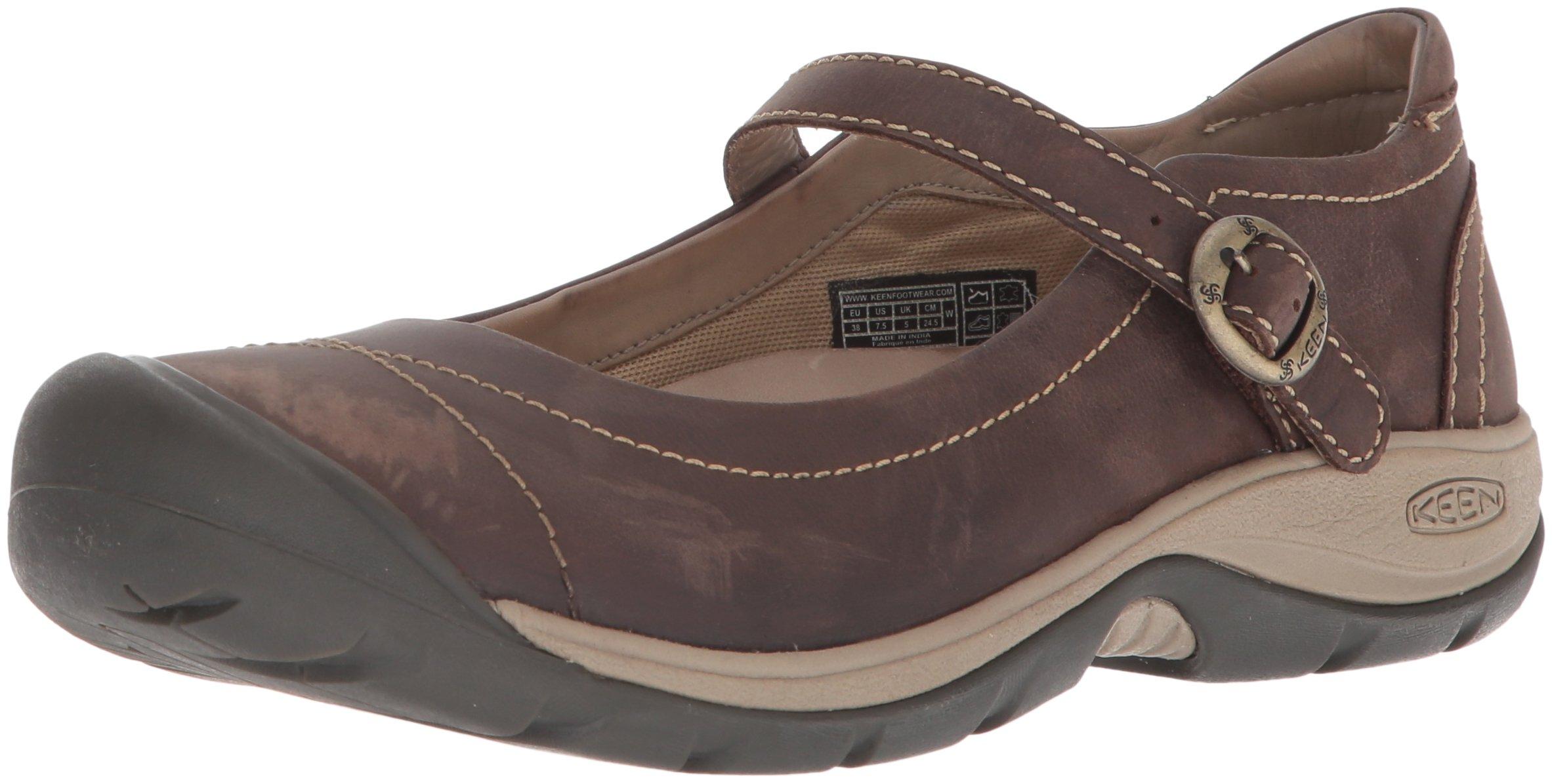 KEEN Women's Presidio II MJ-W Hiking Shoe, Infield/Cornstalk, 8.5 M US 1
