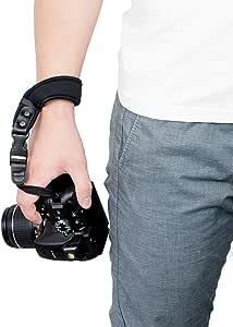 Sugelary Quick Release Neoprene Camera Shoulder Strap For Canon Nikon Sony Fujifilm Olympus Dslr Slr Black Elektronik