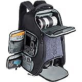 Beschoi Kamerarucksack wasserdicht Fotorucksack für Canon Nikon Sony Spiegelreflexkameras, Drohne, Objektiv, Laptop…