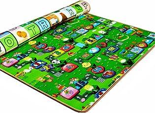 Kids striscianti educativo tappetino gioco, tessuto impermeabile non tossico child Activity Foam Floor, sicuro e morbido schiuma multi-size picnic tappeto
