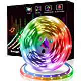 Felizamor LED Strip Light Smart Bluetooth RGB Decoration Lights 300 LED TV Backlighting APP Remote Contorl Sync to Music for