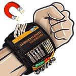 Bestes Männer Geschenke Magnetisches Armband - Magnetarmband Handwerker mit 15 Leistungsstarken Magneten, Vater Tischler...