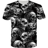 SunFocus T-Shirt Uomo Estate 3D Divertente Grafica Manica Corta Girocollo Magliette Casual Aderenti Top per Tutti i…