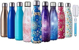 HGDGears Bottiglia Acqua in Acciaio Inox - Senza BPA, Borraccia Termica Isolamento Sottovuoto a Doppia Parete, Borracce...