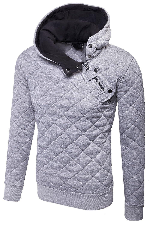 MT Styles Kapuzenpullover Side-Zip Hoodie Pullover S-210: Amazon.de:  Bekleidung