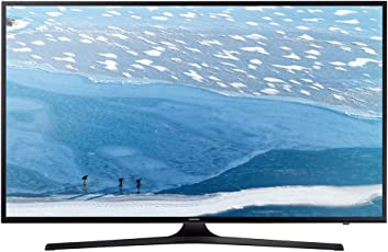 "Samsung Poll Flat UHD Serie KU6050 Smart TV da 55"", Nero"
