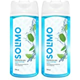 Amazon Brand - Solimo Shower Gel, Cool Menthol - 250 ml (Pack of 2)