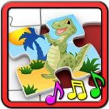 Kinder Dinosaurier Rex Puzzle - pädagogische Form und matching-Kinder Spiel geeignet für Kleinkind und Jugendlichen Pre Schule Jungen und Mädchen