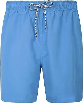 Mountain Warehouse Aruba Mens Swim Shorts - Fast Dry Swimming Trunks, Lightweight Board Shorts, Adjustable Draw Cord Beach Short Pants, Mesh Shorts -for Summer, Pools