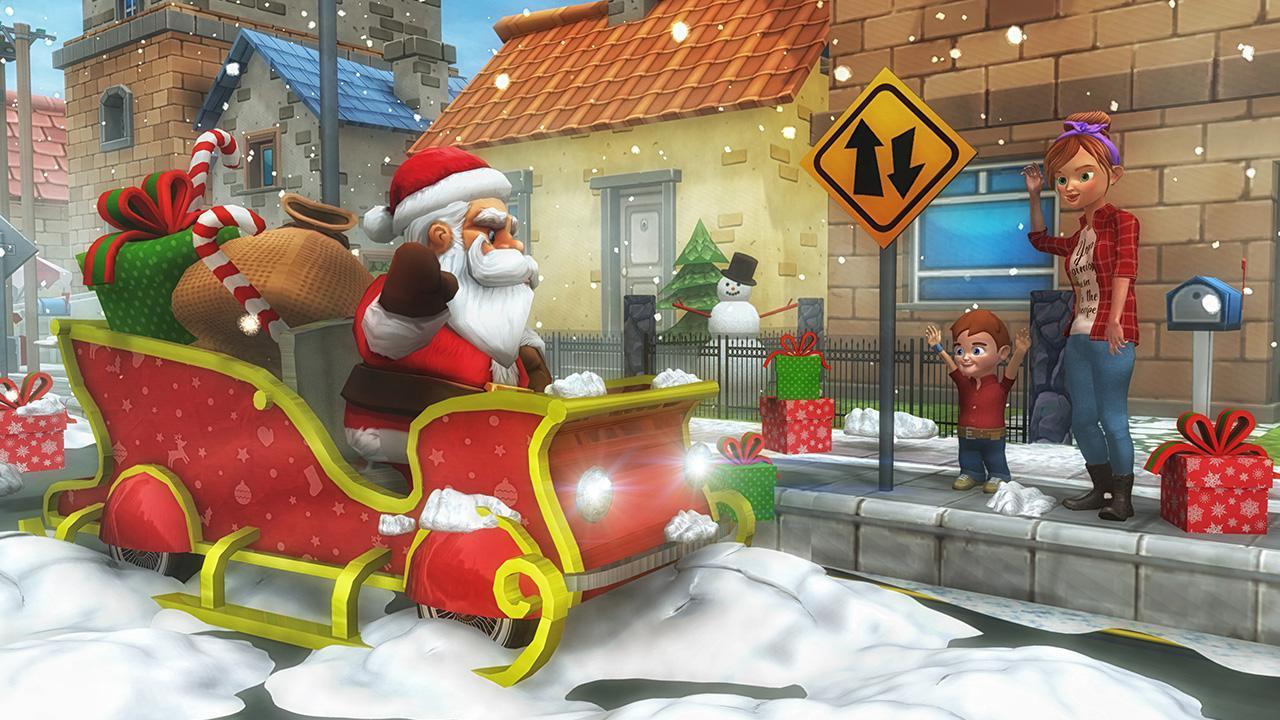 Virtual Santa Claus Simulator 3D: Geschenk Lieferung Frenzy ...