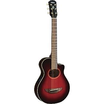 yamaha apxt2 3 4 acoustic electric guitar w bag dark red burst musical instruments. Black Bedroom Furniture Sets. Home Design Ideas
